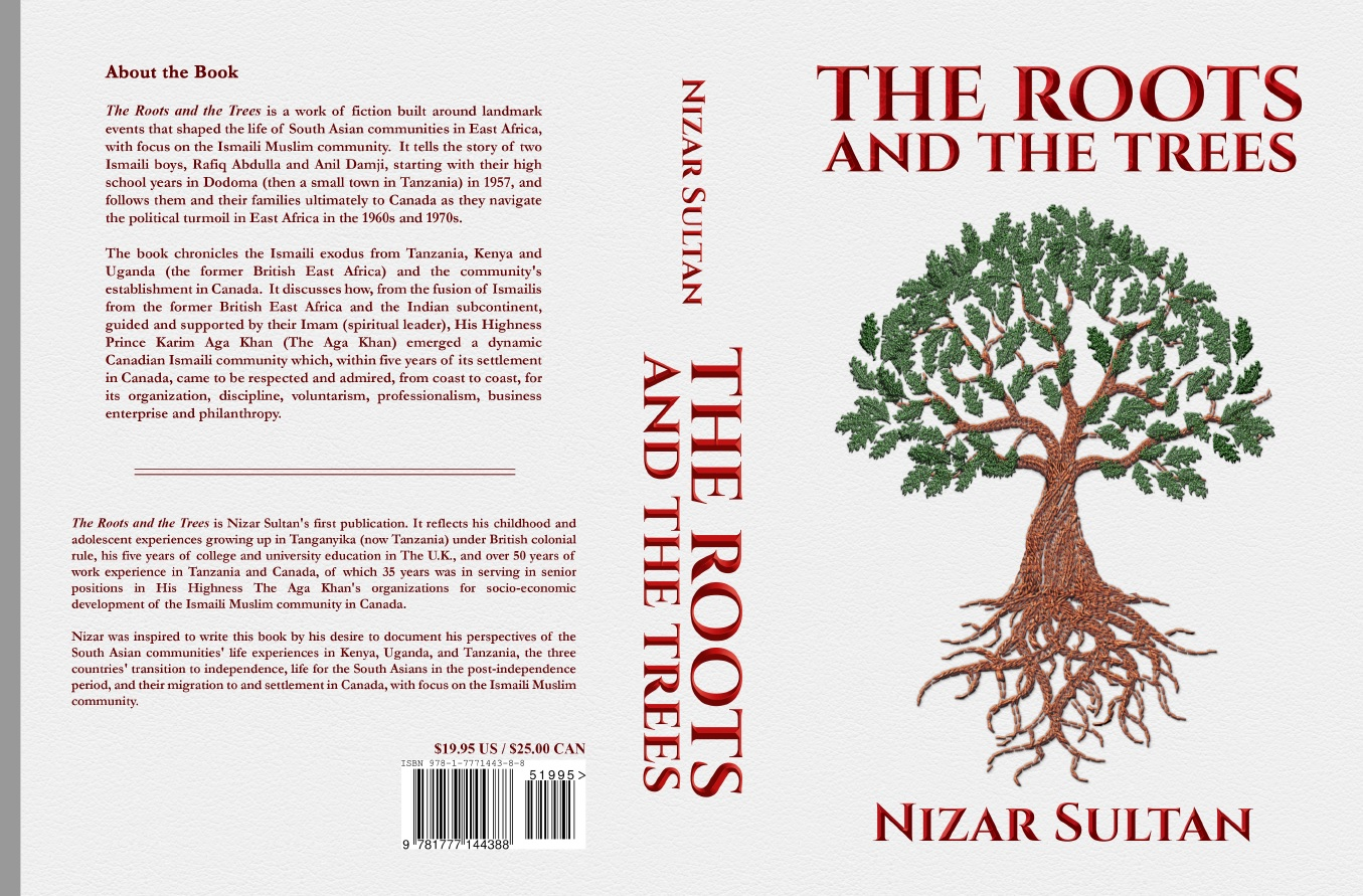 The Roots and the Trees by Nizar Sultan, Ismaili author series, simerg, Fiction