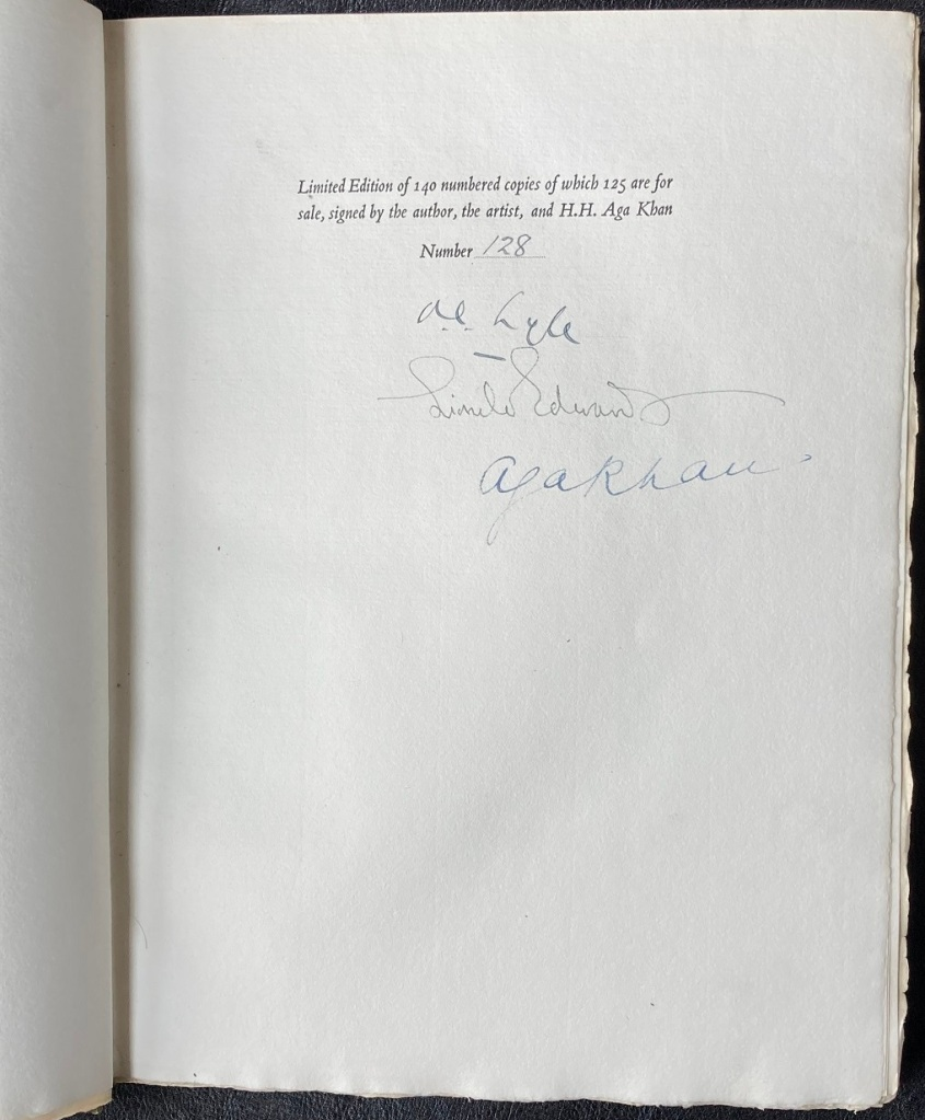 The Aga Khan's Horses Numbered Edition 128