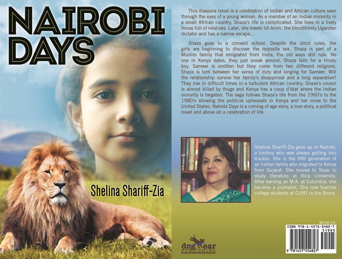 Nairobi Days by Shelina Shariff-Zia Cover_Front_and_Back Ismaili author series Simerg