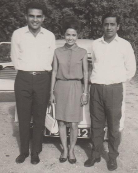 Jehangir Merchant, Nizar and Fariyal Chunara in Dar es Salaam Tanzania United Nations Road, Simerg, Passings