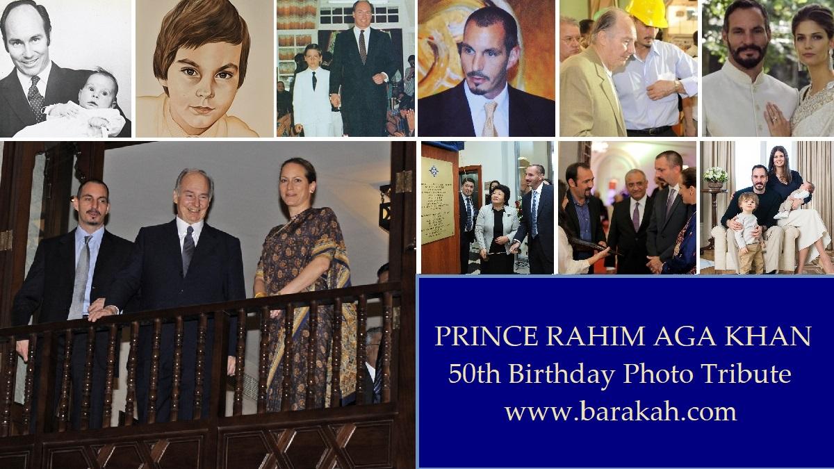 Prince Rahim Aga Khan Photo essay as he turns 50 years old.